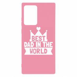 Чехол для Samsung Note 20 Ultra Best dad in the world