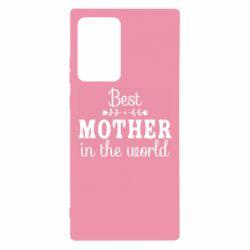 Чохол для Samsung Note 20 Ultra Best mother in the world