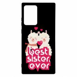 Чохол для Samsung Note 20 Ultra Best sister ever