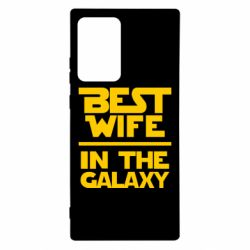 Чехол для Samsung Note 20 Ultra Best wife in the Galaxy