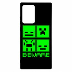 Чохол для Samsung Note 20 Ultra Beware Minecraft
