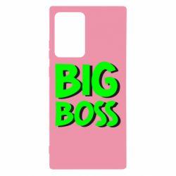 Чехол для Samsung Note 20 Ultra Big Boss