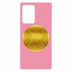 Чохол для Samsung Note 20 Ultra Bitcoin coin