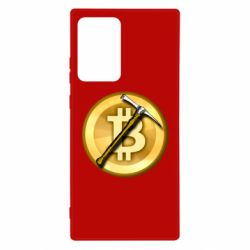 Чохол для Samsung Note 20 Ultra Bitcoin Hammer