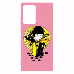 Чехол для Samsung Note 20 Ultra Black and yellow clown