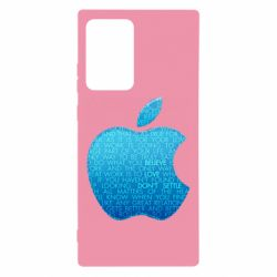 Чехол для Samsung Note 20 Ultra Blue Apple