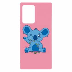 Чехол для Samsung Note 20 Ultra Blue koala