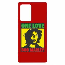 Чехол для Samsung Note 20 Ultra Bob Marley One Love