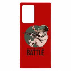 Чехол для Samsung Note 20 Ultra Born For Battle