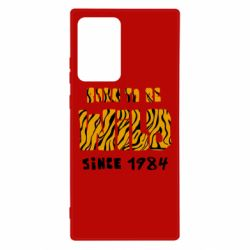 Чохол для Samsung Note 20 Ultra Born to be wild sinse 1984