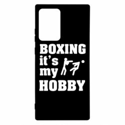 Чохол для Samsung Note 20 Ultra Boxing is my hobby