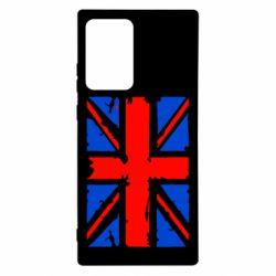 Чехол для Samsung Note 20 Ultra Британский флаг