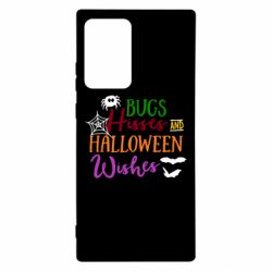 Чохол для Samsung Note 20 Ultra Bugs Hisses and Halloween Wishes