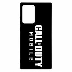 Чехол для Samsung Note 20 Ultra Call of Duty Mobile