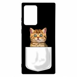 Чехол для Samsung Note 20 Ultra Cat in your pocket