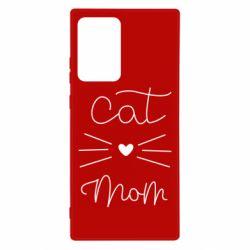 Чохол для Samsung Note 20 Ultra Cat mom