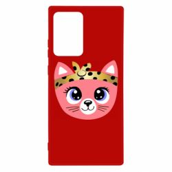Чехол для Samsung Note 20 Ultra Cat pink