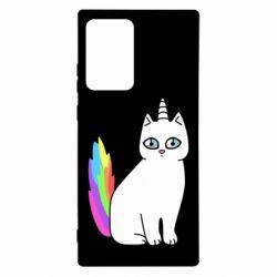 Чехол для Samsung Note 20 Ultra Cat Unicorn