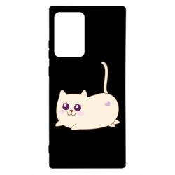 Чехол для Samsung Note 20 Ultra Cat with a smile