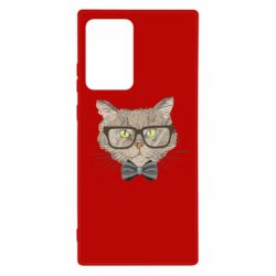 Чохол для Samsung Note 20 Ultra Cat with glasses