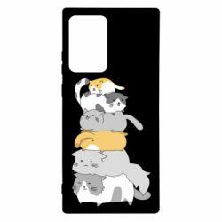 Чохол для Samsung Note 20 Ultra Cats