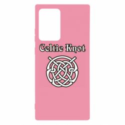 Чохол для Samsung Note 20 Ultra Celtic knot black and white