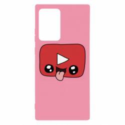 Чохол для Samsung Note 20 Ultra Cheerful YouTube