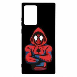 Чохол для Samsung Note 20 Ultra Людина павук в толстовці