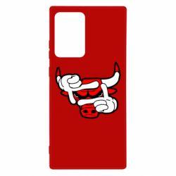 Чехол для Samsung Note 20 Ultra Chicago Bulls бык