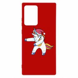 Чохол для Samsung Note 20 Ultra Christmas Unicorn