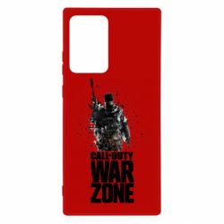Чехол для Samsung Note 20 Ultra COD Warzone Splash