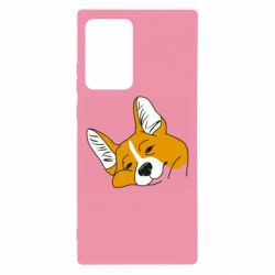 Чохол для Samsung Note 20 Ultra Corgi is dozing