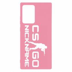 Чехол для Samsung Note 20 Ultra Counter-Strike nickname