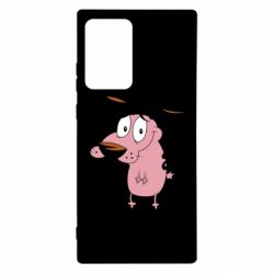 Чохол для Samsung Note 20 Ultra Courage - a cowardly dog
