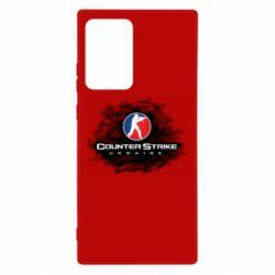Чехол для Samsung Note 20 Ultra CS GO Ukraine black