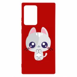 Чохол для Samsung Note 20 Ultra Cute cat with big eyes