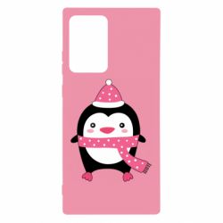 Чехол для Samsung Note 20 Ultra Cute Christmas penguin