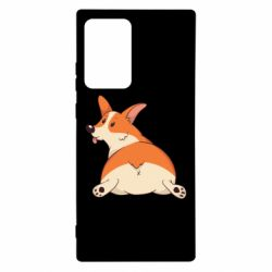Чехол для Samsung Note 20 Ultra Cute corgi