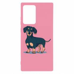 Чохол для Samsung Note 20 Ultra Cute dachshund
