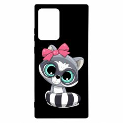 Чехол для Samsung Note 20 Ultra Cute raccoon