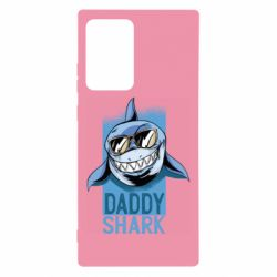 Чехол для Samsung Note 20 Ultra Daddy shark