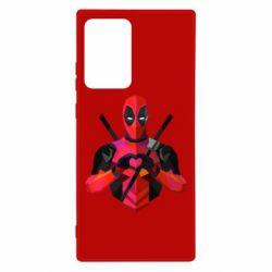Чохол для Samsung Note 20 Ultra Deadpool Love