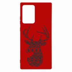 Чохол для Samsung Note 20 Ultra Deer from the patterns