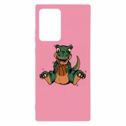 Чехол для Samsung Note 20 Ultra Dinosaur and basketball