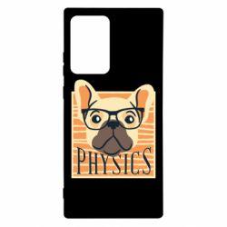 Чехол для Samsung Note 20 Ultra Dog Physicist