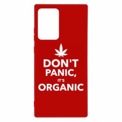 Чехол для Samsung Note 20 Ultra Dont panic its organic