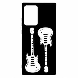 Чохол для Samsung Note 20 Ultra Дві гітари