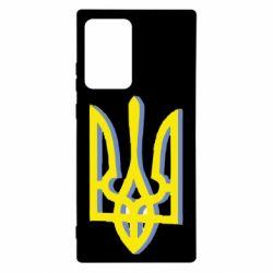 Чохол для Samsung Note 20 Ultra Двокольоровий герб України