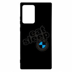 Чохол для Samsung Note 20 Ultra Eat, sleep, BMW