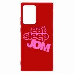 Чехол для Samsung Note 20 Ultra Eat sleep JDM